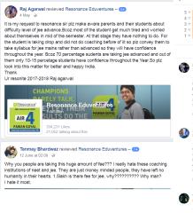 Resonance Bhubaneswar Campus IIT JEE Coaching Bhubaneswar Reviews