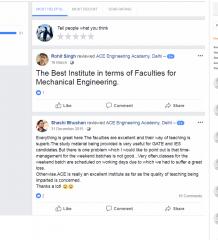 ACE Institute Ielts Coaching Delhi Reviews