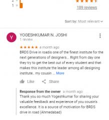 BRDS Nata Ahmedabad Coaching Reviews
