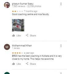 BRDS Wood Street NATA Kolkata Coaching Reviews