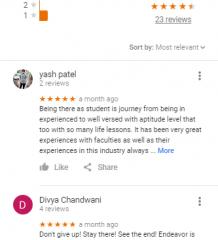 Endeavor Careers GRE Ahmadabad Coaching Reviews