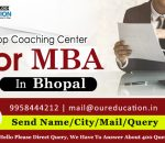 Top coaching center for MBA entrance in Bhopal