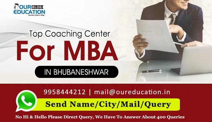 Top MBA Coaching Institutes in Bhubaneswar