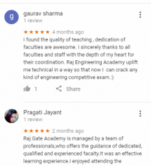 Raj gate academy DMRC Coaching Delhi Reviews