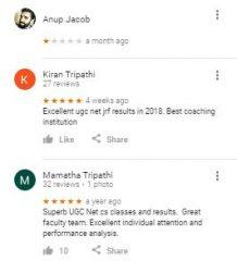 Ugc Net Coaching Bangalore Reviews