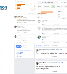 Competition Qualifiers Banking Coaching Jaipur Reviews