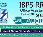 IBPS RRB Office Assistant Prelims 2018 - 18th August Shift 3 - Exam Analysis