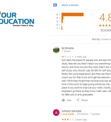 IMS Aundh Cat Coaching Pune Reviews