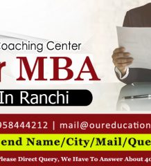 Top Coaching Centers for MBA entrance in Ranchi