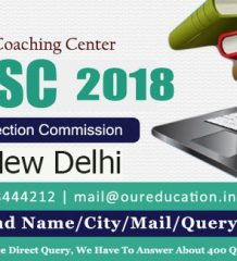 Best SSC Coaching Center in New Delhi 2018