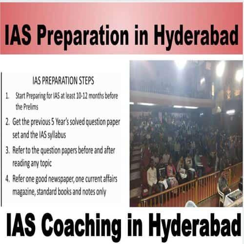 IAS Preparation in Hyderabad