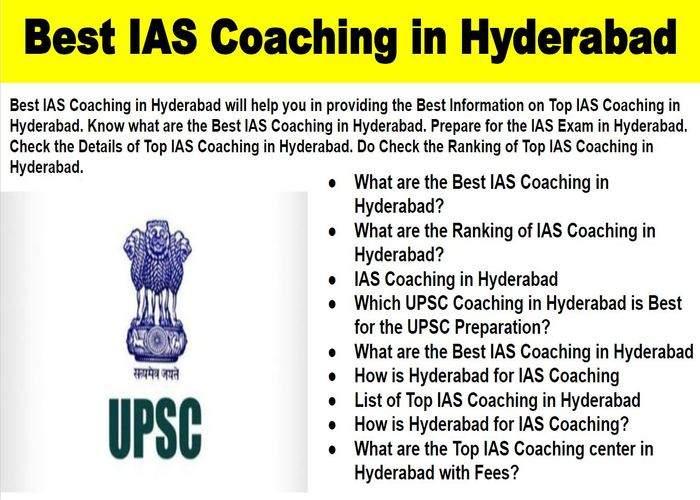 Top IAS Exam Coaching in Hyderabad