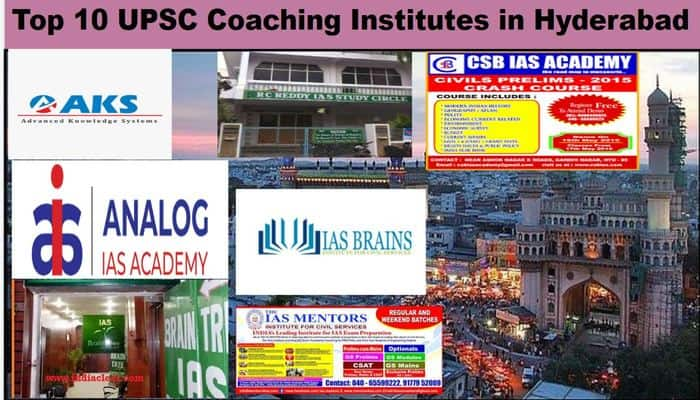 List of Top IAS Coaching in Hyderabad